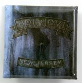 Bon Jovi - 'New Jersey Logo' Square Badge